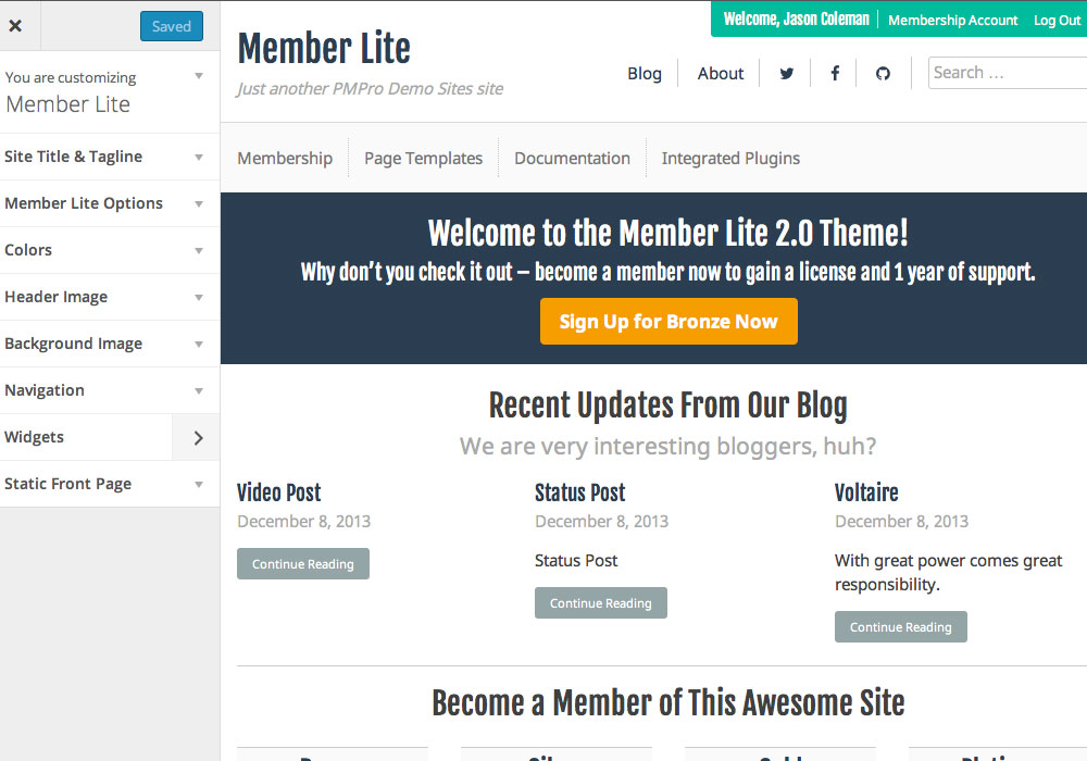 Welcome | Memberlite