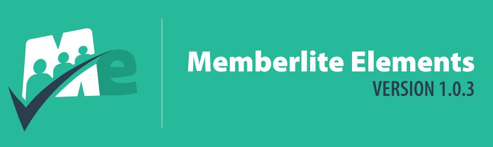 Memberlite Elements v1.0.3
