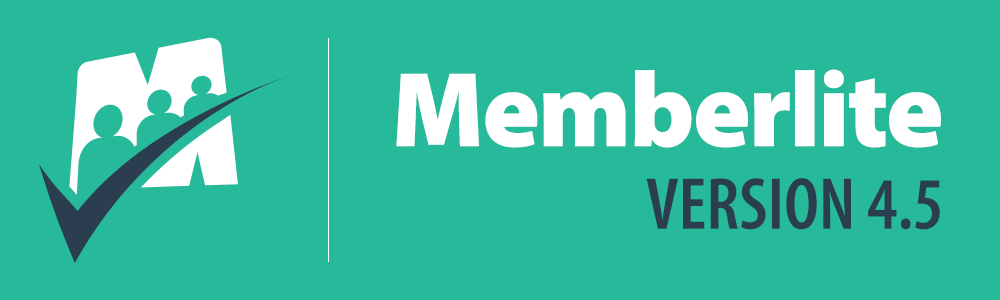 Banner for Memberlite v4.5 Release Notes